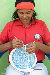 Artisan Crocheting Eco-Mochila